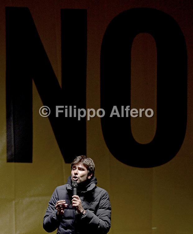 &copy; Filippo Alfero<br /> Chiusura Campagna Referendaria Movimento 5 Stelle per il NO<br /> Torino, Piazza San Carlo, 02/12/2016