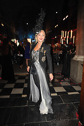 AMANDA ELIASCH at 'Superficial Butterfly' a party hosted by Amanda Eliasch to celebrate her 50th birthday held at Number One Mayfair (St Marks Church) North Audley Street, London on 12th May 2010.