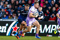Sam Hill of Exeter Chiefs - Mandatory by-line: Robbie Stephenson/JMP - 08/12/2019 - RUGBY - AJ Bell Stadium - Manchester, England - Sale Sharks v Exeter Chiefs - Heineken Champions Cup