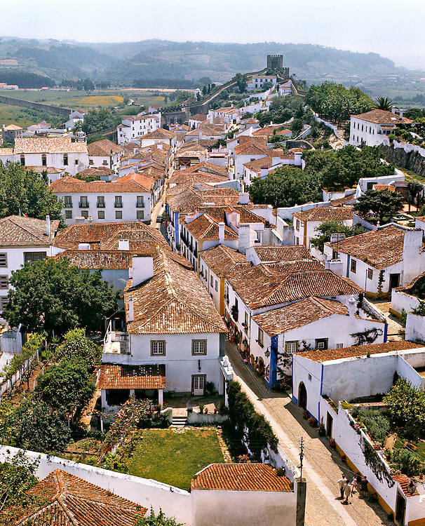 "Obidos, ""The Wedding City"", was the bridal gift of Portuguese kings to their queens."