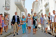 PRINCESS VICTORIA AND PRINCE DANIEL VISIT COLOMBIA CARTAGENA