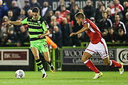 Forest Green Rovers William Randall(19) runs forward during the EFL Sky Bet League 2 match between Forest Green Rovers and Swindon Town at the New Lawn, Forest Green, United Kingdom on 22 September 2017. Photo by Shane Healey.