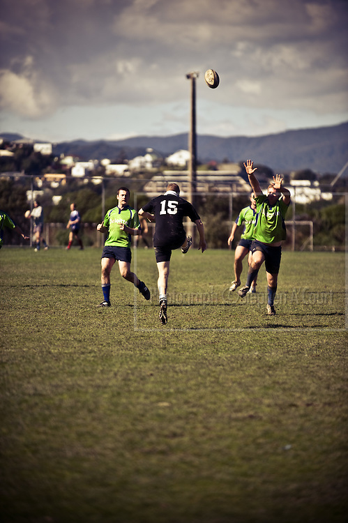 KPMG, Firm of Origin tournament, September 2011, Kilbirnie, Wellington, New Zealand.