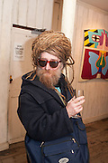 SEAN MCKENNA, JUDY CHICAGO 'Deflowered' Exhibition closing at Riflemaker Gallery,  79 Beak Street, London W1. 21 February 2013