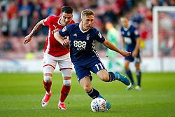 Nottingham Forest's Ben Osborn takes on Barnsley's Adam Hammill - Mandatory by-line: Matt McNulty/JMP - 15/08/2017 - FOOTBALL - Oakwell Stadium - Barnsley, England - Barnsley v Nottingham Forest - SkyBet Championship