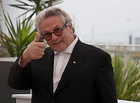 George Miller, Australian Director, Writer, Producer and President of the Jury at the Members of the Jury photo call at the 69th Cannes Film Festival Wednesday 11th May 2016, Cannes, France. Photography: Doreen Kennedy