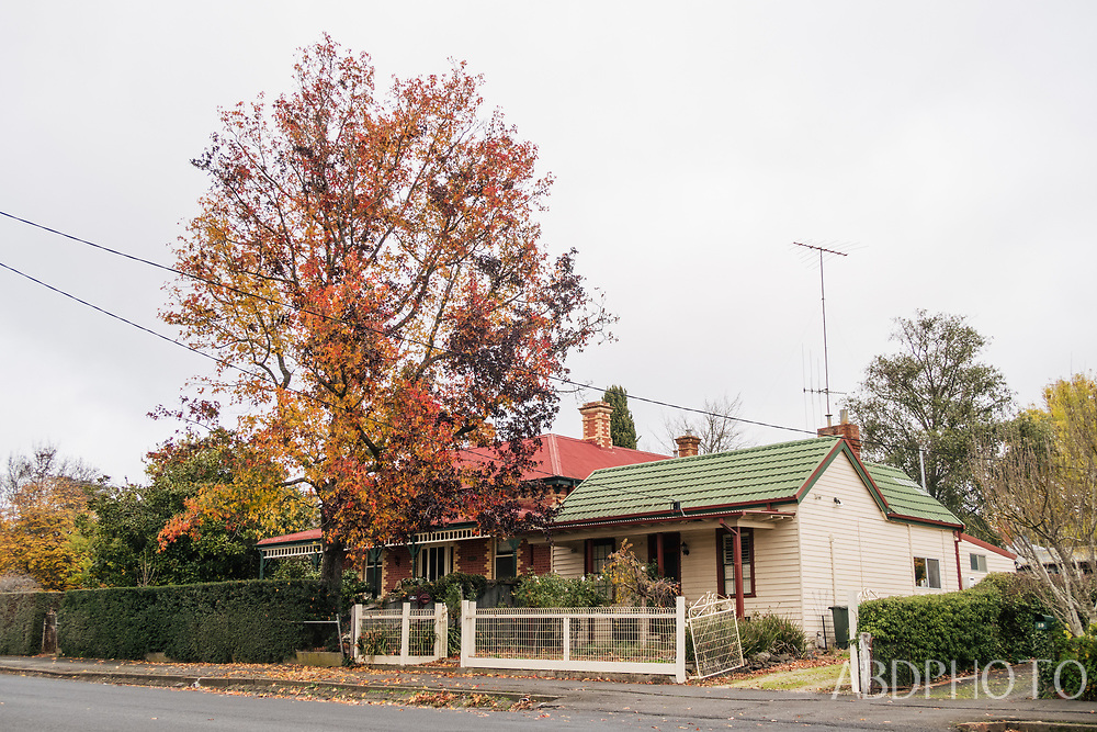 Melbourne Victoria Australia Kyneton town in the Macedon Ranges