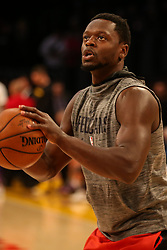 February 27, 2019 - Los Angeles, CA, U.S. - LOS ANGELES, CA - FEBRUARY 27: New Orleans Pelicans Center Julius Randle (30) before the New Orleans Pelicans versus Los Angeles Lakers game on February 27, 2019, at Staples Center in Los Angeles, CA. (Photo by Icon Sportswire) (Credit Image: © Icon Sportswire/Icon SMI via ZUMA Press)