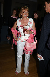 ESTHER RANTZEN at a party to celebrate the UK launch of Diana:The Portrait, the authorised book about the late Princess Of Wales's life and work, held at the National Portrait Gallery, London on 1st September 2004.  The book was commissioned by The Diana, Princess of Wales Memorial Fund and writen by Ros Coward.