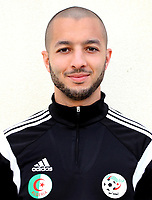 Confederation of African Football - World Cup Fifa Russia 2018 Qualifier / <br /> Algeria National Team - Preview Set - <br /> Sofiane Hanni