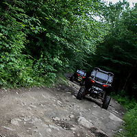 2 sxs' on a bumpy trail in New England, bumps, NH, New England, N, New Hampshire, atv, utv, sxs, ohrv, orv, trail riding, hobby, adventure, sports, therapy, Click Stock Photography