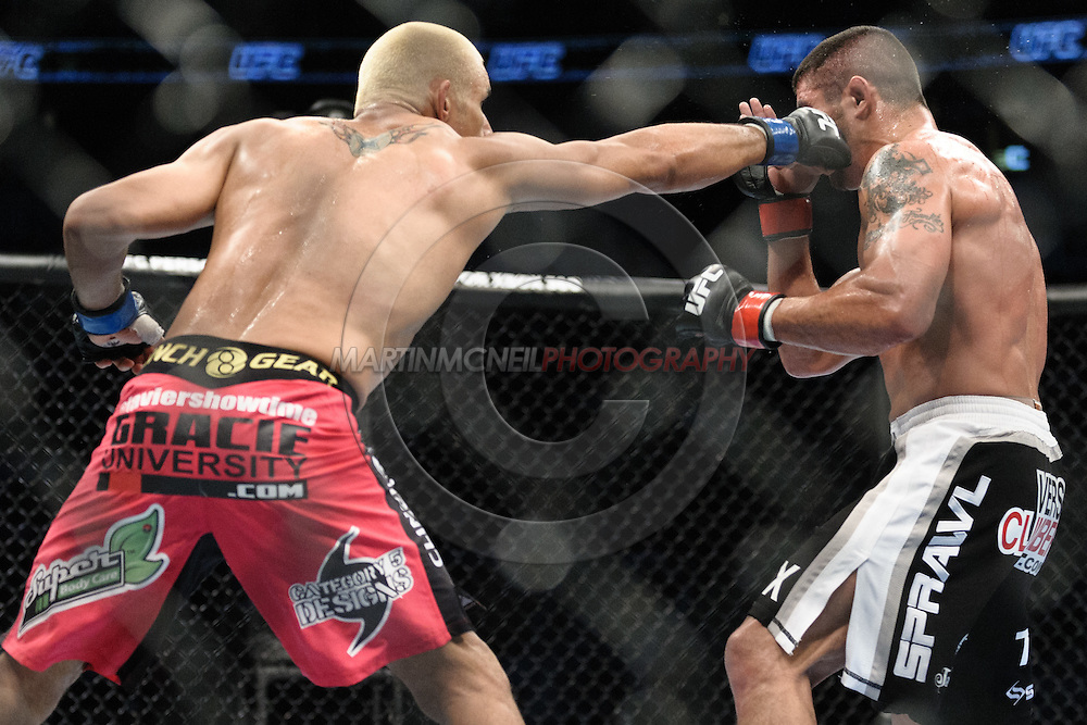 "PITTSBURGH, PENNSYLVANIA, JUNE 26, 2011: Images from ""UFC Live: Kongo vs. Barry"" inside the Consol Energy Center in Pittsburgh, Pennsylvania"