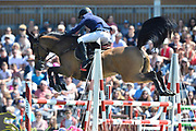 Rene LOPEZ (COL) riding DESTINY'S CHILD during the Derby Region Pays de la Loire Competition of the International Show Jumping of La Baule 2018 (Jumping International de la Baule), on May 19, 2018 in La Baule, France - Photo Christophe Bricot / ProSportsImages / DPPI