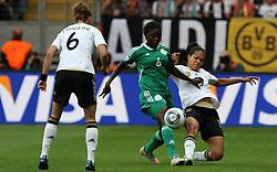 30.06.2011, Commerzbank Arena, Frankfurt, GER, FIFA Women Worldcup 2011, Gruppe A, Deutschland (GER) vs. Nigeria (NGA), im Bild .Celia Okoyino Da Mbabi (GER) gegen Helen Ukaonu (NGA).// during the FIFA Women Worldcup 2011, Pool A, Germany vs Nigeria on 2011/06/30, Commerzbank Arena, Frankfurt, Germany.  EXPA Pictures © 2011, PhotoCredit: EXPA/ nph/  Karina Hessland       ****** out of GER / CRO  / BEL ******