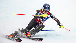 29.12.2013, Hochstein, Lienz, AUT, FIS Weltcup Ski Alpin, Lienz, Slalom, Damen, 1. Durchgang, im Bild Mikaela Shiffrin (USA) // during the 1st run of ladies slalom Lienz FIS Ski Alpine World Cup at Hochstein in Lienz, Austria on 2013/12/29, EXPA Pictures © 2013 PhotoCredit: EXPA/ Michael Gruber