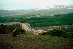Alaska: View in Denali Natl Park.  Photo akgran101..Photo copyright Lee Foster, 510/549-2202,  lee@fostertravel.com, www.fostertravel.com