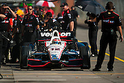 31 August - 1 September, 2012, Baltimore, Maryland USA.Will Power (12) .(c)2012, Jamey Price.LAT Photo USA