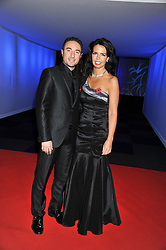 VINCENT SIMONE and SUSAN DUDDY at the annual Collars & Coats Gala Ball in aid of Battersea Dogs & Cats Home held at Battersea Evolution, Battersea Park, London on 11th November 2011.