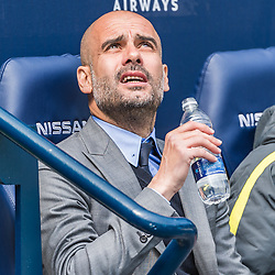 Manchester City manager Pep Guardiola in the English Premier League match between Manchester City and Crystal Palace<br /> (c) John Baguley | SportPix.org.uk