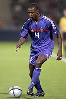 Fotball<br /> 31.05.2005<br /> Frankrike v Ungarn<br /> Foto: Dppi/Digitalsport<br /> NORWAY ONLY<br /> <br /> ERIC ABIDAL (FRA)