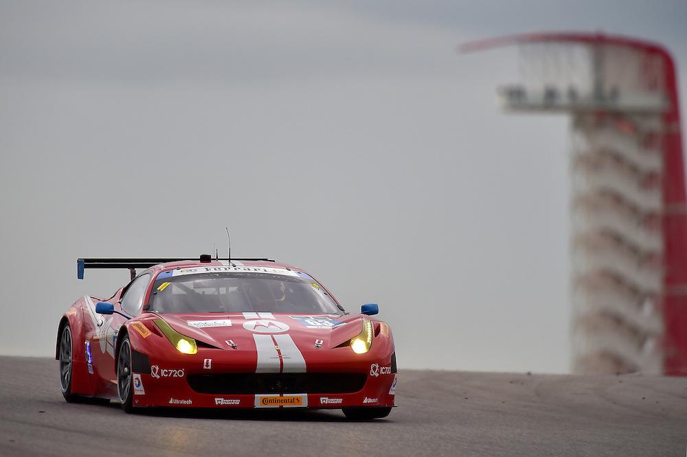 18-20 September 2014, Austin, Texas USA<br /> 63, Ferrari, 458 Italia, GTD, Alessandro Balzan, Jeff Westphal<br /> &copy;2014, Scott R LePage <br /> LAT Photo USA