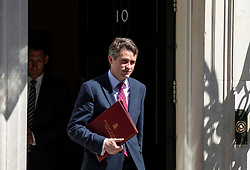© Licensed to London News Pictures. 08/05/2018. London, UK. Defence Secretary Gavin Williamson leaves 10 Downing Street after the Cabinet meeting. Photo credit: Rob Pinney/LNP