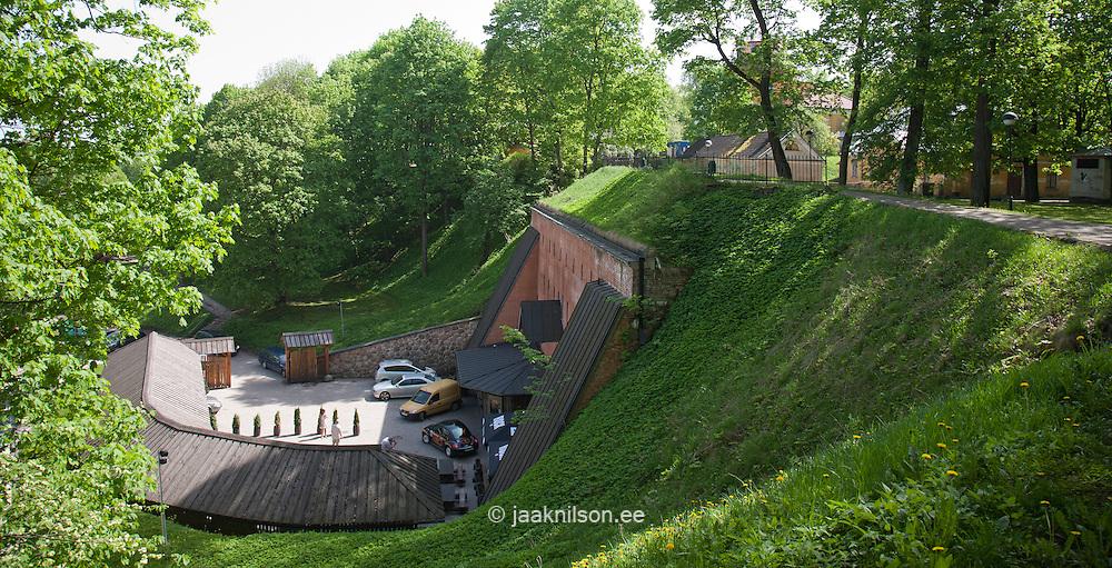 Higest Pub in the World (10,5m) Gunpowder Cellar, Dome Hill, Tartu, Estonia, Europe