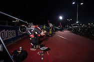 General Event Coverage, March 22, 2015 - TRIATHLON : Ironman Melbourne Aisa Pacific Chamionships, Frankston to St Kinda, Melbourne, Victoria, Australia. Credit: Lucas Wroe