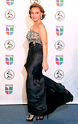 Paloma Santiago poses in the press room at the 7th Annual Latin Grammy Awards at Madison Square Garden  on Thursday, November 2, 2006 in New York.