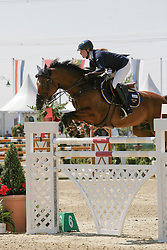 Holmen Stephanie (SWE) - Himer's Iceface<br /> European Jumping Championship Magna Racino 2012<br /> © Hippo Foto - Florian Brauchli
