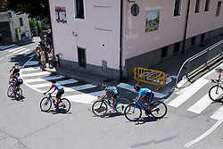 Paula Patino Bedoya (COL) at Stage 2 of 2019 Giro Rosa Iccrea, an 78.3 km road race starting and finishing in Viù, Italy on July 6, 2019. Photo by Sean Robinson/velofocus.com