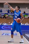 DESCRIZIONE : Trento Nazionale Italia Uomini Trentino Basket Cup Italia Austria Italy Austria <br /> GIOCATORE : Andrea Cinciarini<br /> CATEGORIA : palleggio schema<br /> SQUADRA : Italia Italy<br /> EVENTO : Trentino Basket Cup<br /> GARA : Italia Austria Italy Austria<br /> DATA : 31/07/2015<br /> SPORT : Pallacanestro<br /> AUTORE : Agenzia Ciamillo-Castoria/R.Morgano<br /> Galleria : FIP Nazionali 2015<br /> Fotonotizia : Trento Nazionale Italia Uomini Trentino Basket Cup Italia Austria Italy Austria