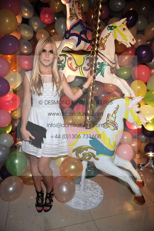 New York social figure and designer TINSLEY MORTIMER at a party hosted by Mulberry during London fashion Week 2009 at Claridge's Hotel, Brook Street, London on 20th September 2009.