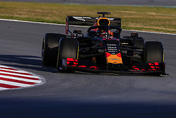 February 18, 2019 - Barcelona, Barcelona, Spain - Max Verstappen from Nederland with 33 Aston Martin Red Bull Racing - Honda RB15 in action during the Formula 1 2019 Pre-Season Tests at Circuit de Barcelona - Catalunya in Montmelo, Spain on February 18. (Credit Image: © Xavier Bonilla/NurPhoto via ZUMA Press)