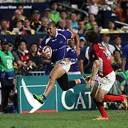 Hong Kong Sevens Rugby, Hong Kong Stadium, Hong Kong, 3/24/13.  Photo by Barry Markowitz, Courtesy Tri Marine/Samoa Tuna Processors