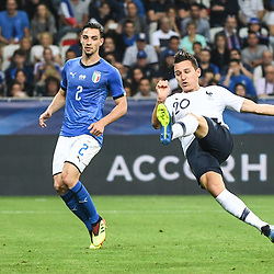 Florian Thauvin of France during the International Friendly match between France and Italy at Allianz Riviera Stadium on June 1, 2018 in Nice, France. (Photo by Anthony Dibon/Icon Sport)