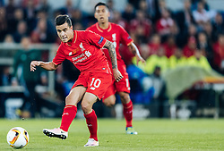 18.05.2016, St. Jakob Park, Basel, SUI, UEFA EL, FC Liverpool vs Sevilla FC, Finale, im Bild Coutinho (FC Liverpool) // Jose Antonio Reyes (FC Sevilla) during the Final Match of the UEFA Europaleague between FC Liverpool and Sevilla FC at the St. Jakob Park in Basel, Switzerland on 2016/05/18. EXPA Pictures © 2016, PhotoCredit: EXPA/ JFK