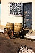 Handcart in Cardenas, Matanzas, Cuba.