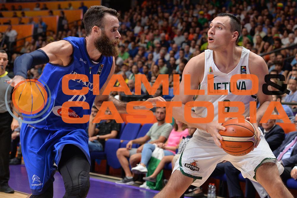 Jonas Macilius<br /> Nazionale Italiana Maschile Senior<br /> Eurobasket 2017 - Group Phase<br /> Lituania - Italia<br /> FIP 2017<br /> Tel Aviv, 03/09/2017<br /> Foto Ciamillo - Castoria/ M.Longo