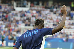 June 1, 2018 - Paris, Ile-de-France, France - Mario Balotelli (Italy) before the friendly football match between France and Italy at Allianz Riviera stadium on June 01, 2018 in Nice, France..France won 3-1 over Italy. (Credit Image: © Massimiliano Ferraro/NurPhoto via ZUMA Press)