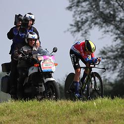 29-08-2017: Wielrennen: Boels Ladies Tour: Wageningen<br /> Annemiek van Vleuten wint de proloog Holland Ladiestour