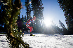 Tarjei Boe (NOR) during Men 15 km Mass Start at day 4 of IBU Biathlon World Cup 2015/16 Pokljuka, on December 20, 2015 in Rudno polje, Pokljuka, Slovenia. Photo by Ziga Zupan / Sportida