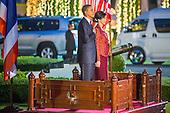 President Barack Obama at Government House in Bangkok