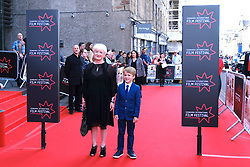 Edinburgh International Film Festival 2019<br /> <br /> Mrs Lowry (UK Premiere, closing night gala)<br /> <br /> Pictured: Debbie Gray (producer) and Laurie Mills<br /> <br /> Aimee Todd | Edinburgh Elite media