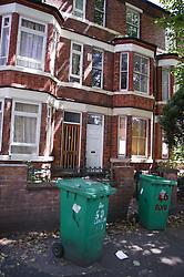 Terraced houses in the Lenton area of Nottingham,