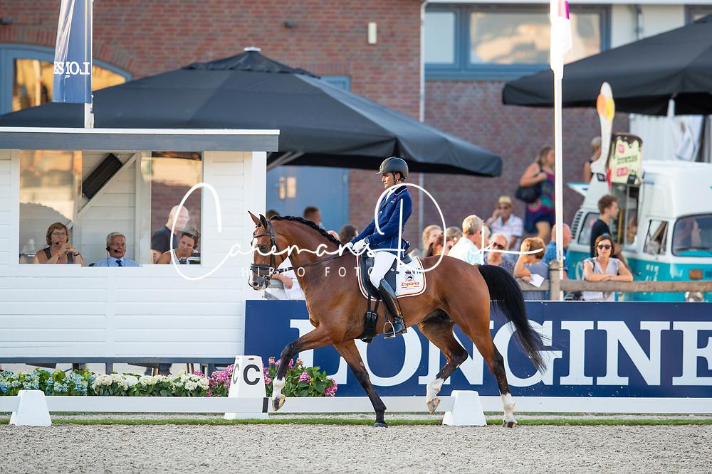 Garcia Mena José Antonio, ESP, Hip By Johnson<br /> World ChampionshipsYoung Dressage Horses<br /> Ermelo 2018<br /> © Hippo Foto - Dirk Caremans