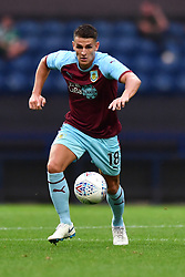 """Burnley's Ashley Westwood during a pre season friendly match at Deepdale, Preston. PRESS ASSOCIATION Photo. Picture date: Monday July 23, 2018. Photo credit should read: Antony Devlin/PA Wire. EDITORIAL USE ONLY No use with unauthorised audio, video, data, fixture lists, club/league logos or """"live"""" services. Online in-match use limited to 75 images, no video emulation. No use in betting, games or single club/league/player publications."""