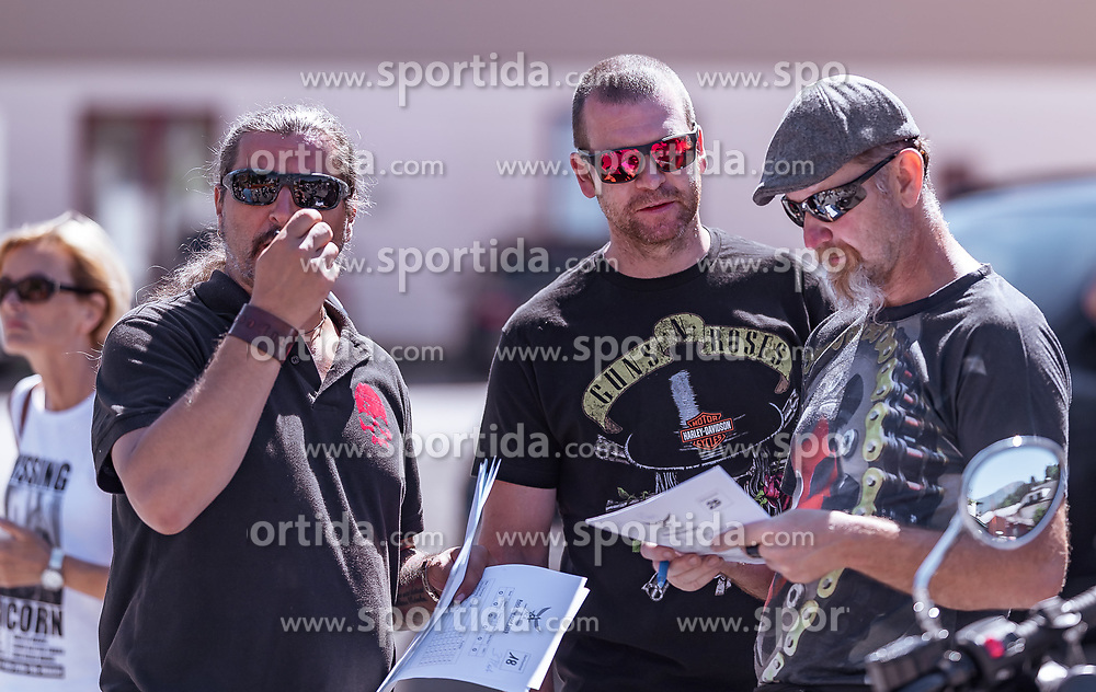 29.06.2019, Schladming, AUT, Rock the Roof 2019, im Bild Klaus Kroell // Klaus Kroell during the Rock the Roof Biker Meeting in Schladming, Austria on 2019/06/29. EXPA Pictures © 2019, PhotoCredit: EXPA/ JFK