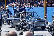 2013/06/02 Roma, II Giugno, parata militare per la Festa della Repubblica, le autorita' . Nella foto Giorgio Napolitano.<br /> Rome, military parade for Republic Day. The authorities. In the picture Giorgio Napolitano - &copy; PIERPAOLO SCAVUZZO