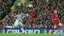 LIVERPOOL, ENGLAND - Friday, April 26, 2019: Liverpool's Sadio Mane during the FA Premier League match between Liverpool FC and Huddersfield Town AFC at Anfield. (Pic by David Rawcliffe/Propaganda)